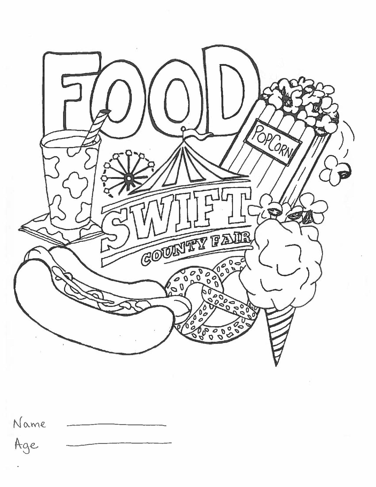 Kids Coloring Contest - 2019 Swift County Fair
